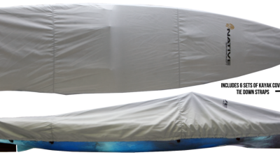 Titan Propel Boat Cover Ironed W Straps 1000X425