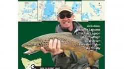 Great Lake Fishing Map 250X250
