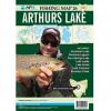 Arthurs Lake Fishing Map