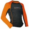 Sharkskin Rapid Dry Long Sleeve Orange