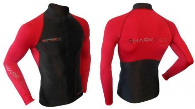 Sharkskin Red Front And Rear