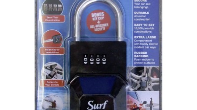 Surf Lock Car Key Security Padlock