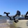 Fish Finder Mount R Lock Hook2 Mounted