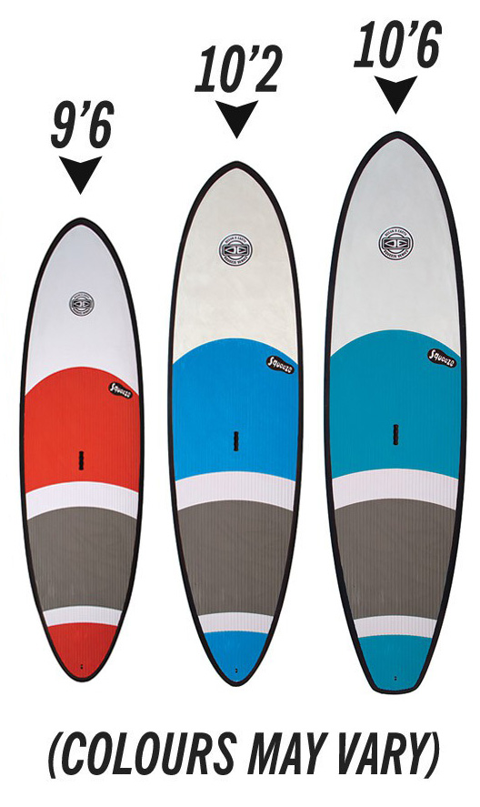 dd0d688246 Squeeze Soft Top SUP Range - Squeeze 9'6